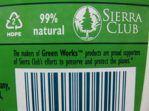Sierra Club, greenwashing for $1.3 million dollars of Clorox's advertising budget