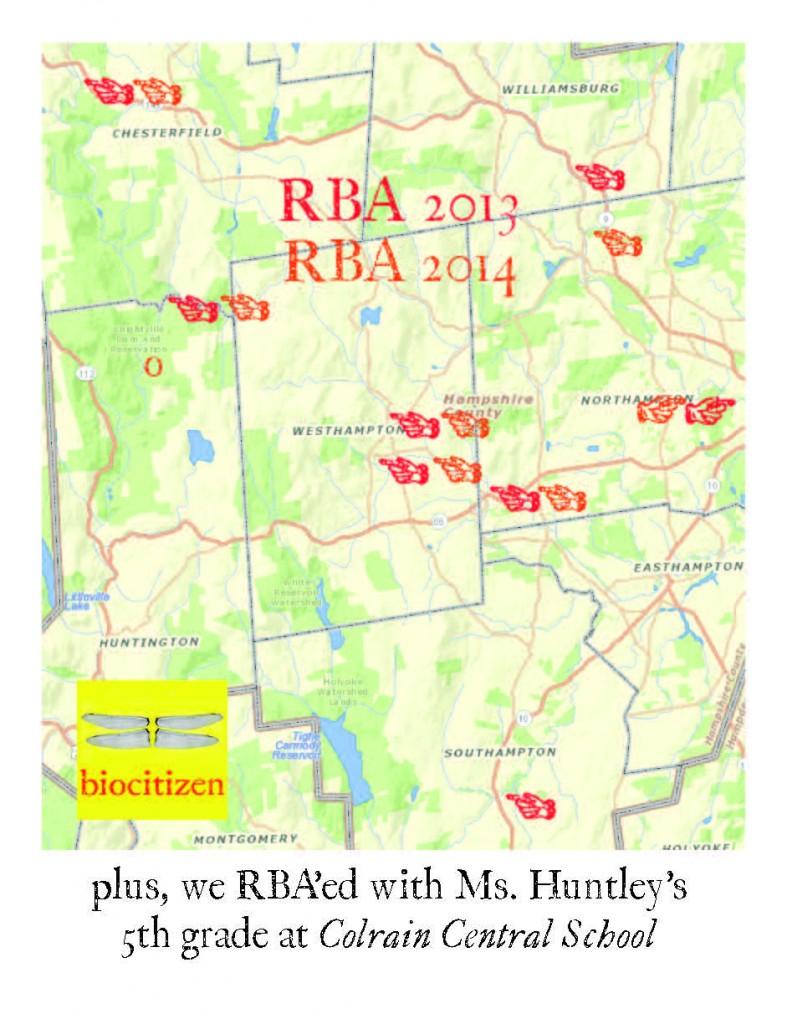 RBA 2014 map
